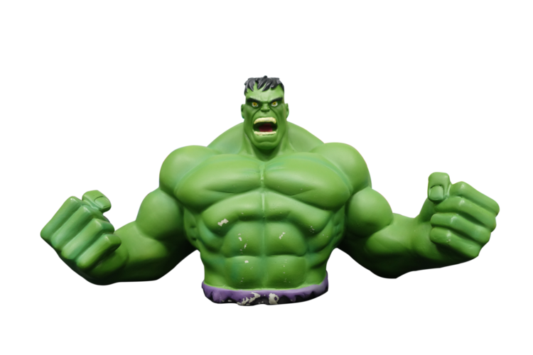 Hulk Piggy Bank 3D Print 13305