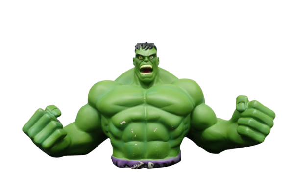 Medium  Hulk Piggy Bank 3D Printing 13305