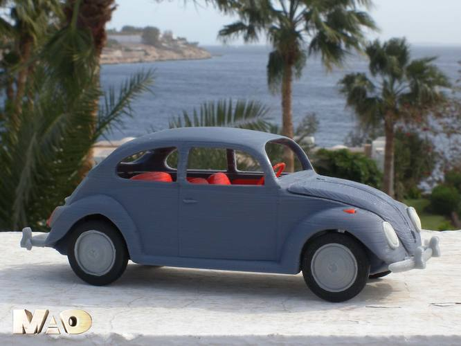 Small German Car Model 3D Print 13323