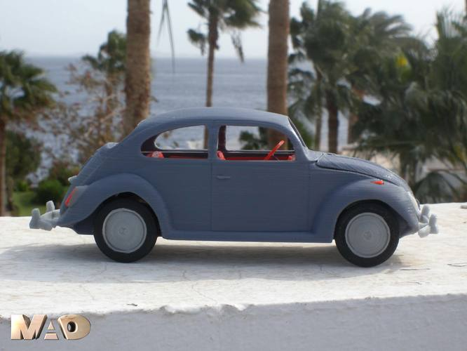 Small German Car Model 3D Print 13324