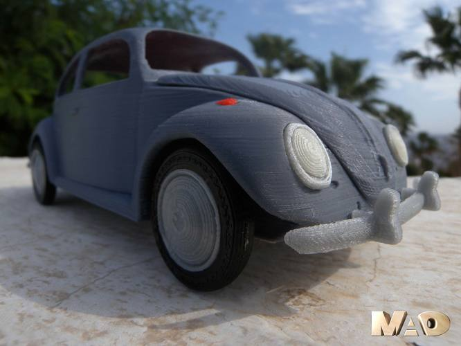 Small German Car Model 3D Print 13325