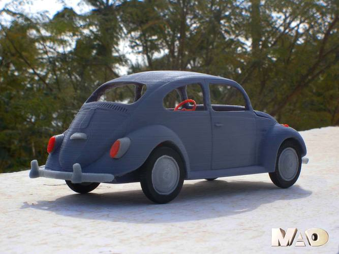 Small German Car Model 3D Print 13327