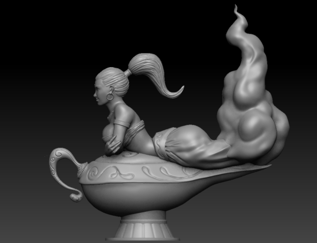 The Magic Lamp 3D Print 133295