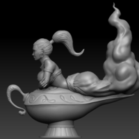 Small The Magic Lamp 3D Printing 133295