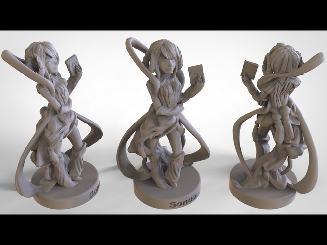 Keeper of the Celestial Archives: Sonea 3D Print 133412