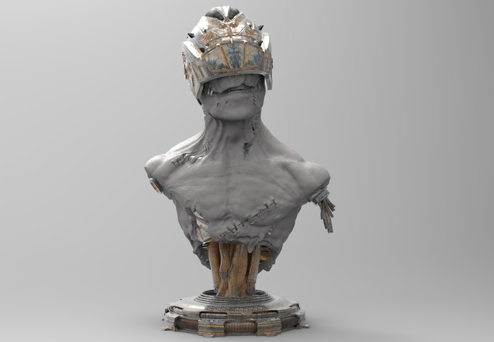 Out of service cyborg 3D Print 133413