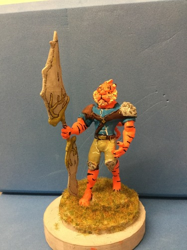 Tiger warrior 3D Print 133558