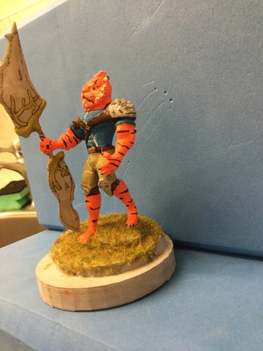 Tiger warrior 3D Print 133560