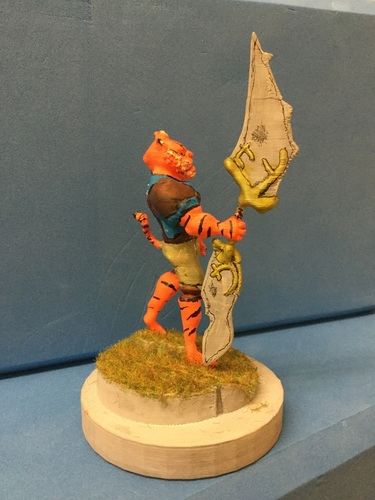 Tiger warrior 3D Print 133561