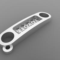 Small FJ CRUSER key chain 3D Printing 133654