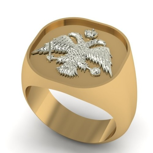 Greek Orthodox Religious Ring 3D Print 133766