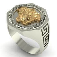 Small Versace Ring 3D Printing 133801