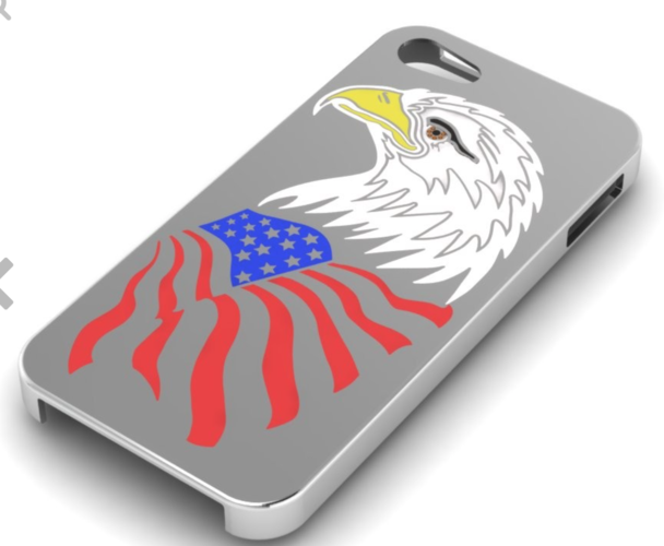 American Eagle iPhone 5s Case 3D Print 133818