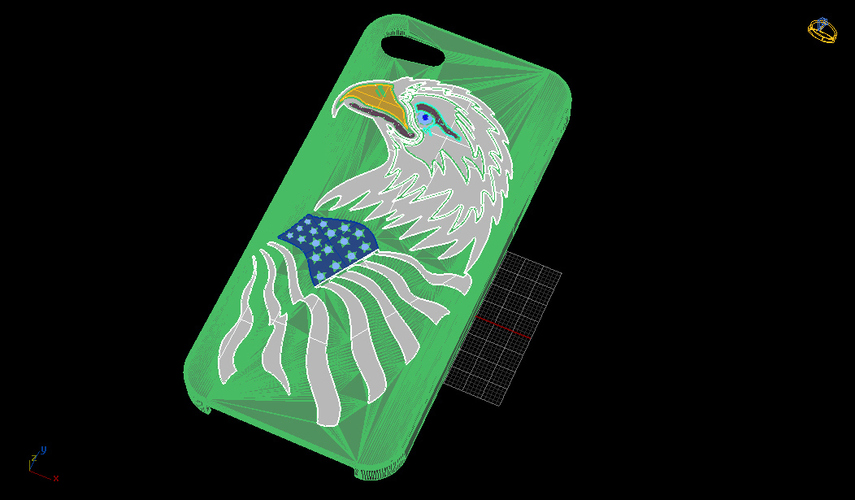 American Eagle iPhone 5s Case 3D Print 133820