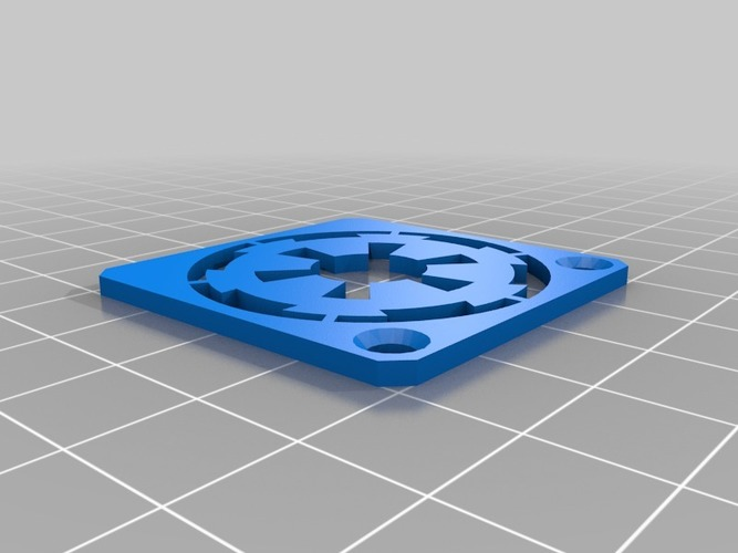 Imperial 40mm Fan Guard 3D Print 13383