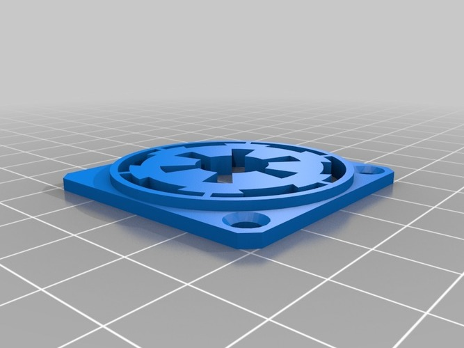 Imperial 40mm Fan Guard 3D Print 13384