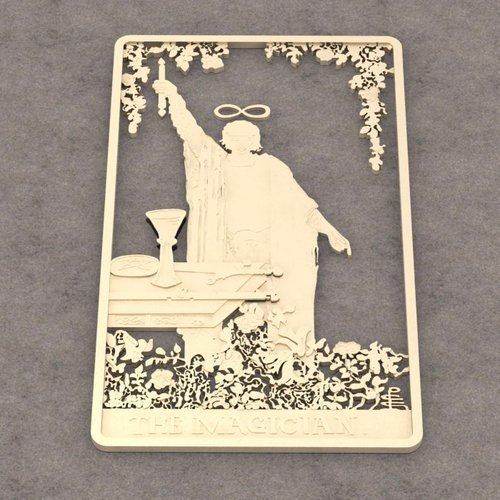 The Magician Tarot Card Brooch/Pin