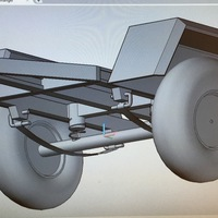 Small Trailer with suspension 3D Printing 133930