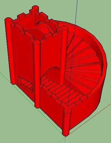 stairs dice tower 3D Print 133992