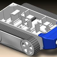 Small Tractor Fronts 3D Printing 134041
