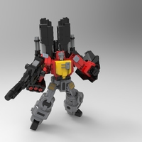 Small Transformers[REPLICA]: Blaster by 3D SOlutech 3D Printing 134058