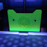 Small Empire logo Replicator 2 Back Plate 3D Printing 13407