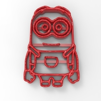 Small Minion Cutter 3D Printing 134081