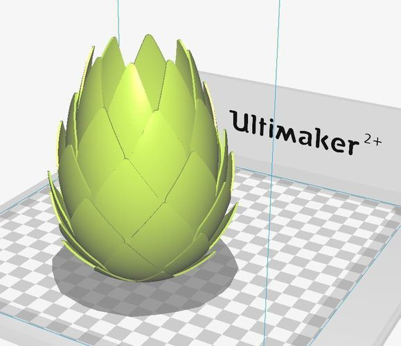 Pine Cone Tealight Candle Holder 3D Print 134115