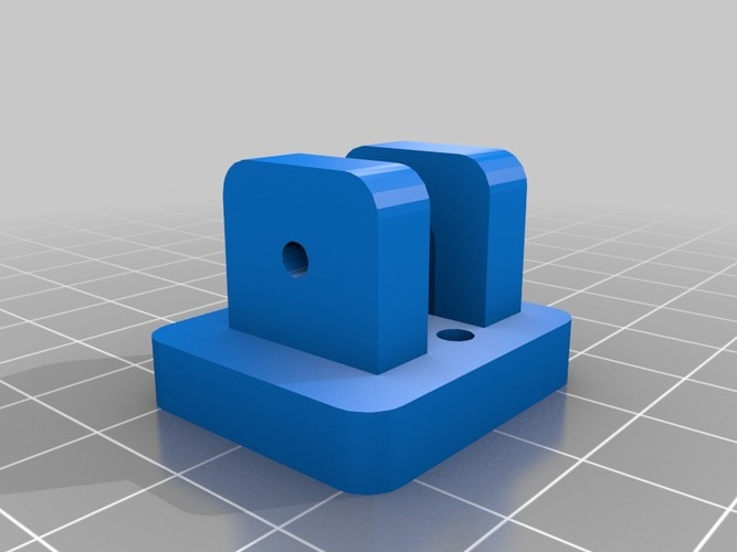 Printrbot Simple Z-Endstop Activator holder 3D Print 13414