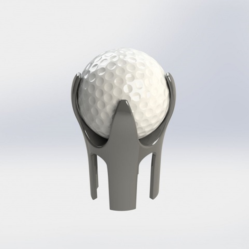 Golf Ball Pick-up 3D Print 134156
