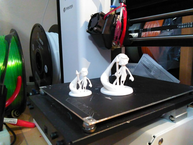 Kids Drawing to 3D model - Max 3D Print 134173