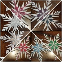 Small Snowflake Ornaments 3D Printing 134249