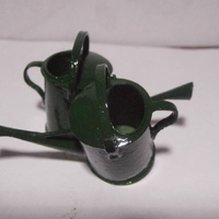 Small SCALEPRINT 1:12 SCALE WATERING CAN DOLLS HOUSE 3D Printing 134290