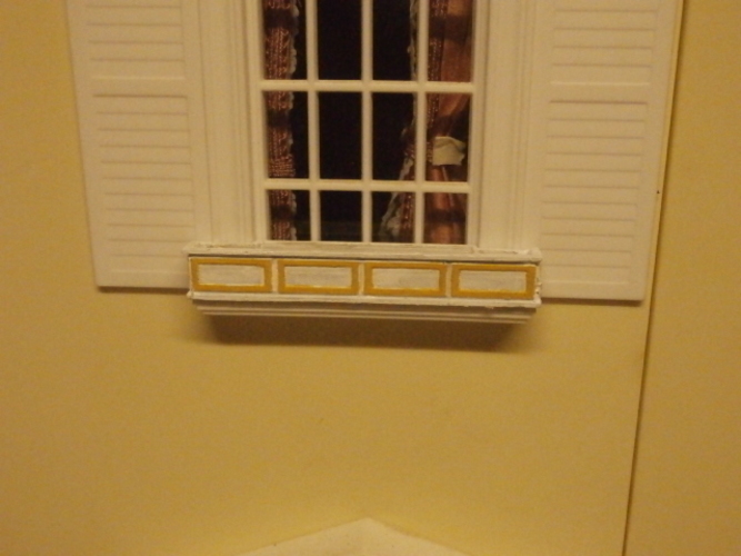 SCALEPRINT 1:12 SCALE WINDOW BOX DOLLS HOUSE 3D Print 134293