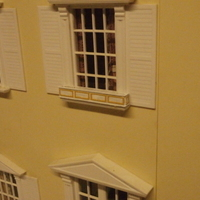 Small SCALEPRINT 1:12 SCALE WINDOW BOX DOLLS HOUSE 3D Printing 134294