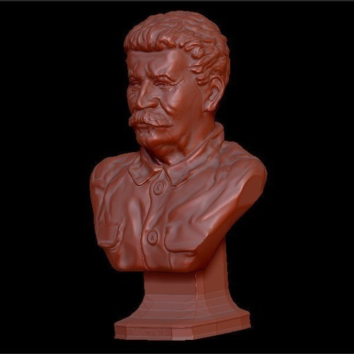 Bust of the generalisimus of the USSR Stalin 3D Print 134354