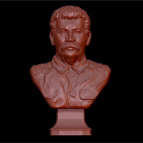 Bust of the generalisimus of the USSR Stalin 3D Print 134355