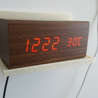 Small Clock shelf 3D Printing 134370