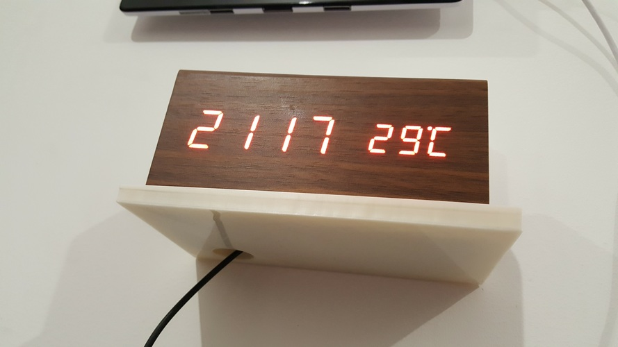Clock shelf 3D Print 134371