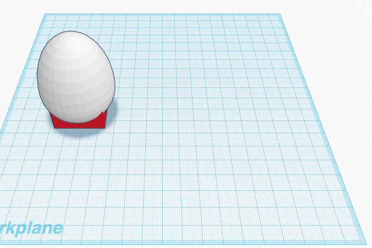 Egg to Test for Egg Drop 3D Print 134373