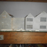 Small SCALEPRINT WINDOW SET MANOR HOUSE 00/HO PART1 3D Printing 134378
