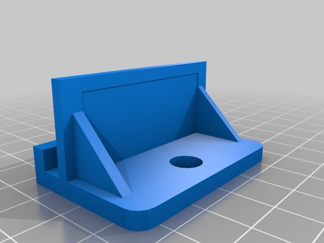 Thing-O-Matic Camera Platform 3D Print 13448