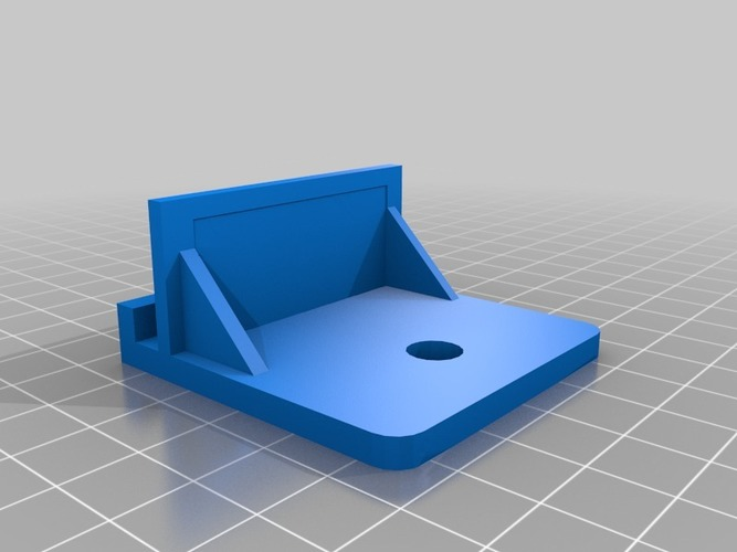 Thing-O-Matic Camera Platform 3D Print 13449