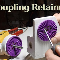Small Coupling Retainer 3D Printing 134495