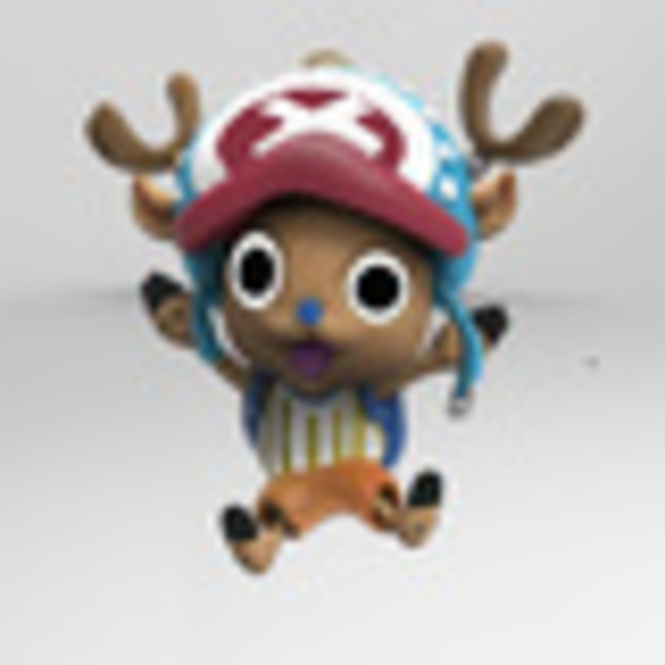 Medium Tony Tony Chopper  3D Printing 134529