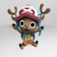 Small Tony Tony Chopper  3D Printing 134529