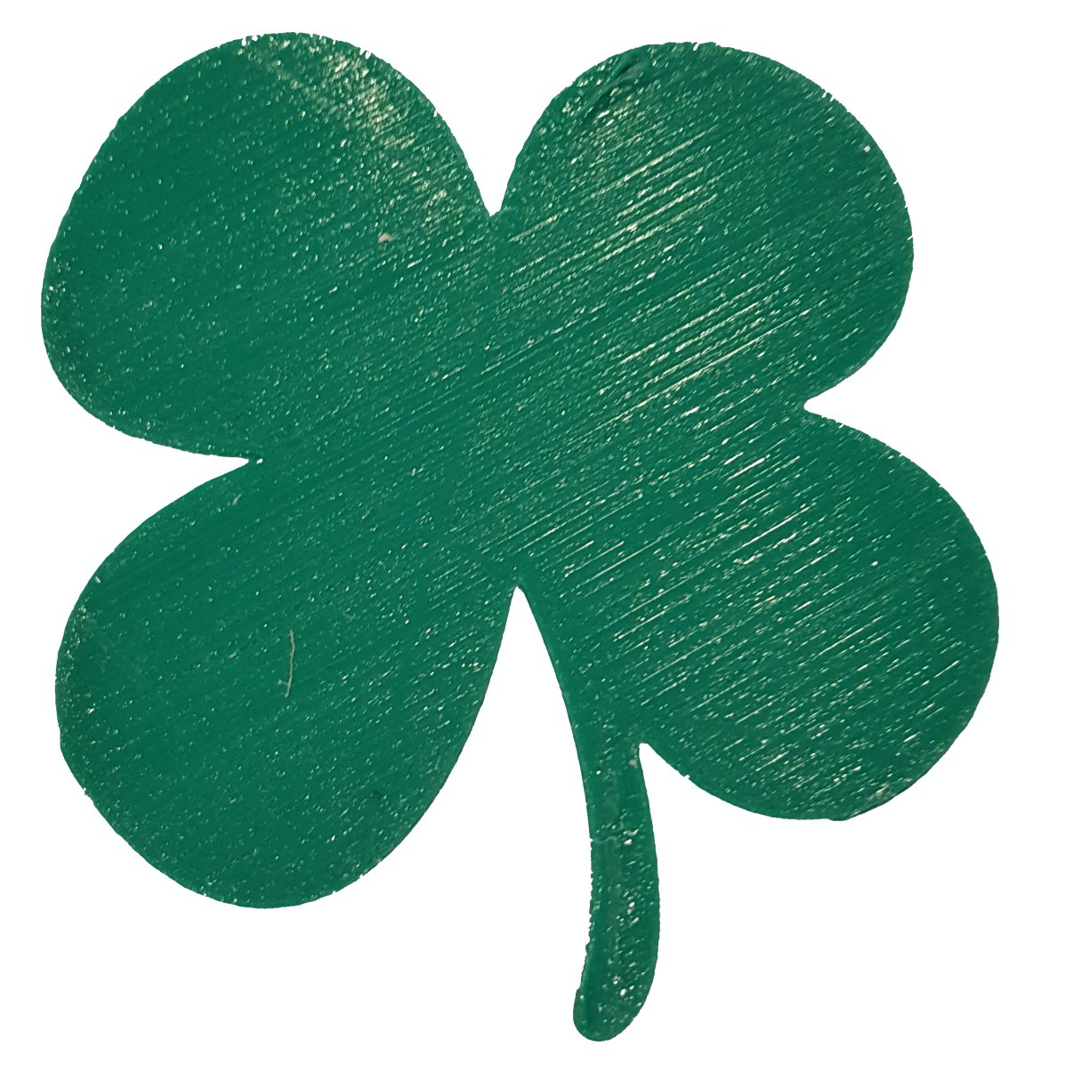 3d printed shamrock or 4 leaf clover by barb 3dprintny pinshape