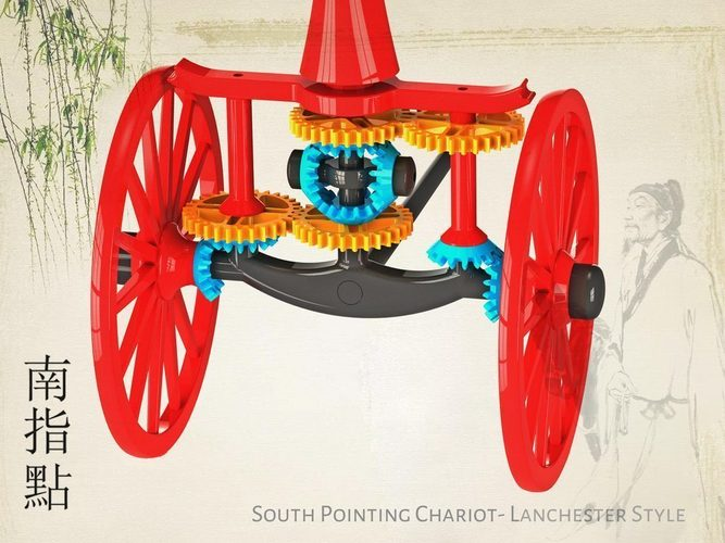 South Pointing Chariot 3D Print 134571