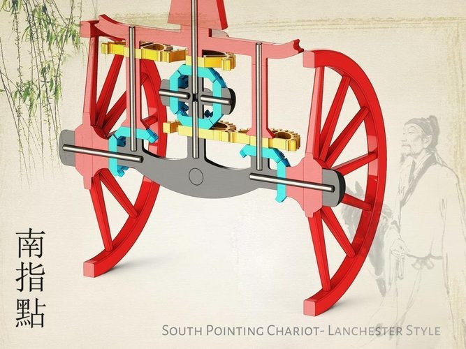 South Pointing Chariot 3D Print 134572