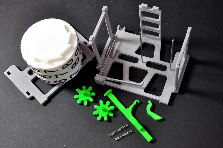 Mechanical Counter 3D Print 134582